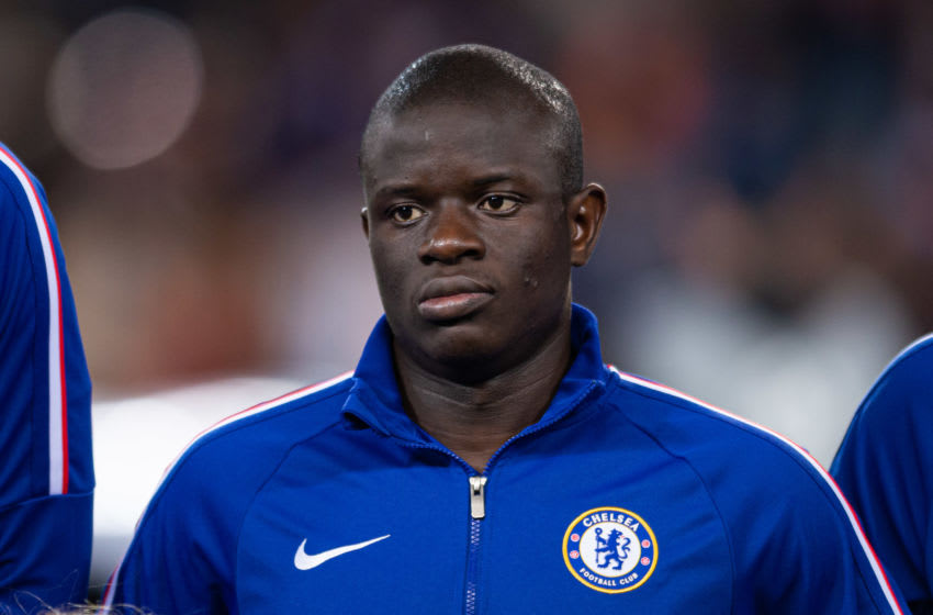 N'Golo Kante of FC Chelsea (Photo by TF-Images/Getty Images)