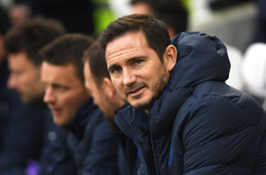 Frank Lampard, Manager of Chelsea (Photo by Mike Hewitt/Getty Images)