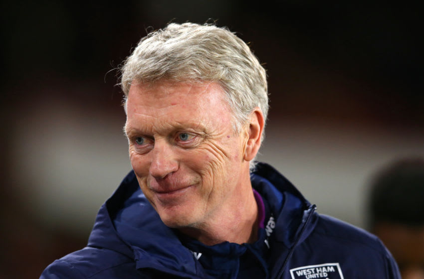 David Moyes the manager of West Ham United (Photo by Alex Livesey - Danehouse/Getty Images)