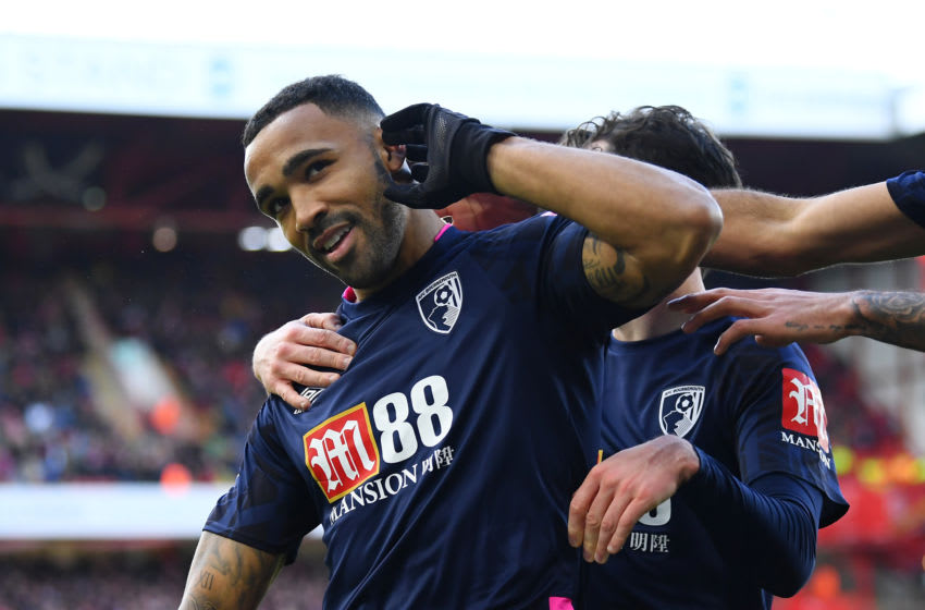 Callum Wilson of AFC Bournemouth (Photo by Clive Mason/Getty Images)