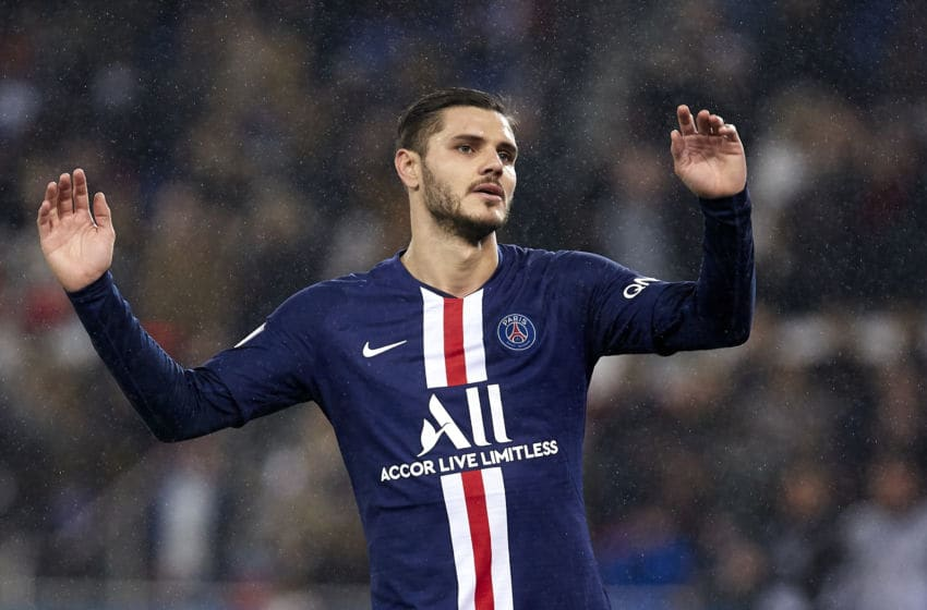 Mauro Icardi, Paris Saint (Photo by Quality Sport Images/Getty Images)