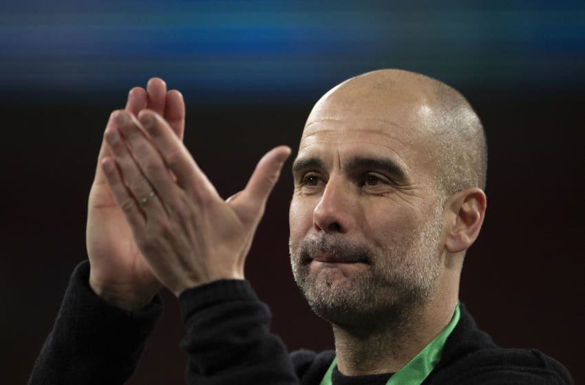 Manchester City Manager Pep Guardiola (Photo by Visionhaus)