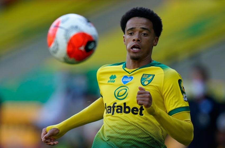Norwich City's Jamal Lewis (Photo by TIM KEETON/POOL/AFP via Getty Images)