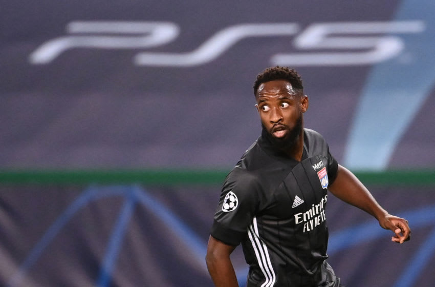Lyon's forward Moussa Dembele (Photo by FRANCK FIFE/POOL/AFP via Getty Images)