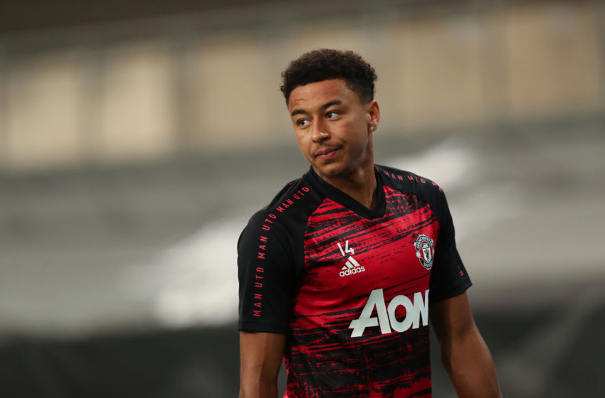 Jesse Lingard of Manchester United (Photo by James Williamson - AMA/Getty Images)