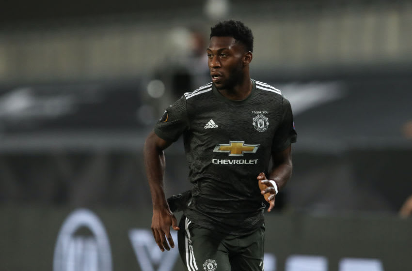 Timothy Fosu-Mensah of Manchester United (Photo by James Williamson - AMA/Getty Images)