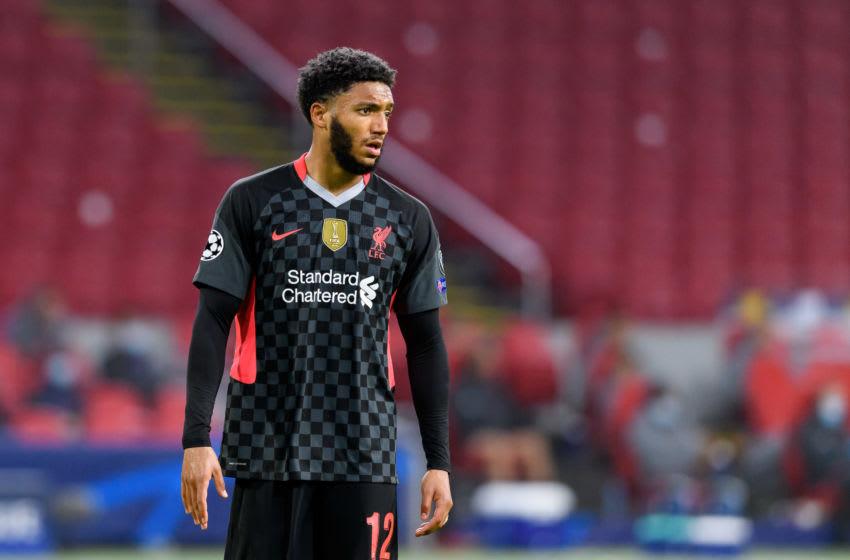 Joe Gomez of FC Liverpool (Photo by Alex Gottschalk/DeFodi Images via Getty Images)