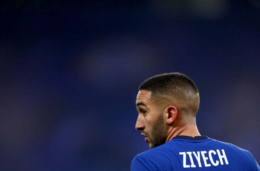 Hakim Ziyech of Chelsea (Photo by Marc Atkins/Getty Images)