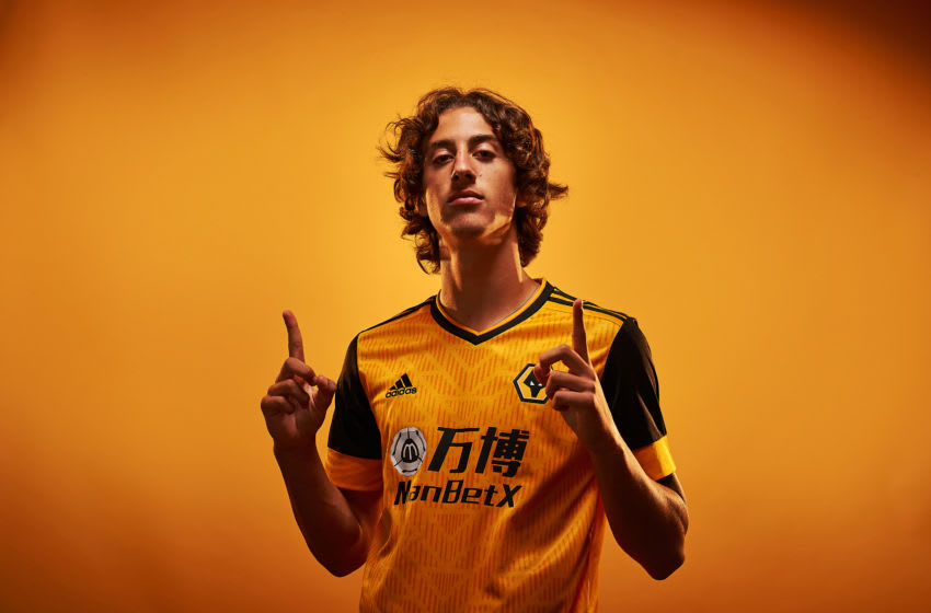 Wolverhampton Wanderers record signing Fabio Silva (Photo by StewartManleyPhotography/Wolverhampton Wanderers FC/Getty Images)