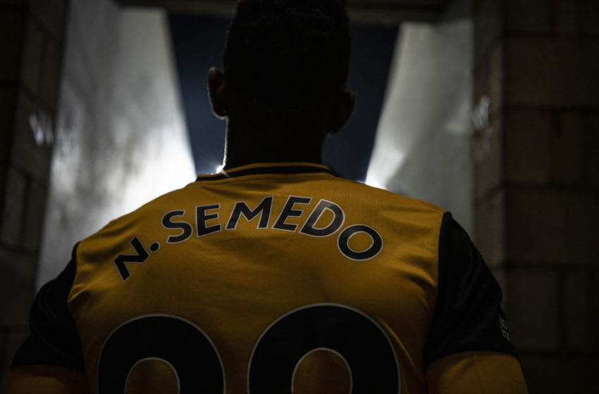 Wolverhampton Wanderers new signing Nelson Semedo (Photo by Wolverhampton Wanderers FC/StewartManleyPhotography/WWFC via Getty Images )