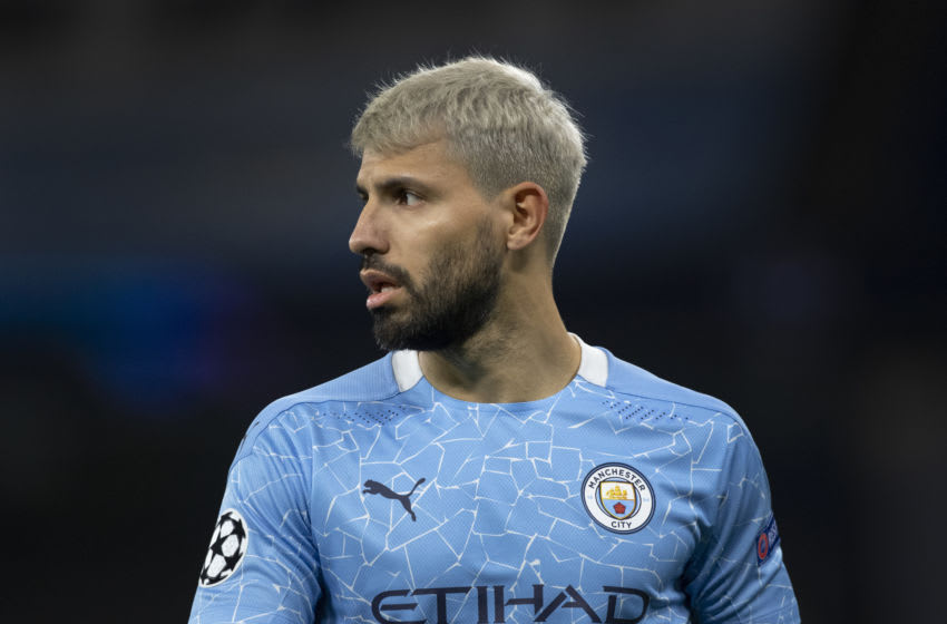 Sergio Aguero of Manchester City (Photo by Visionhaus)