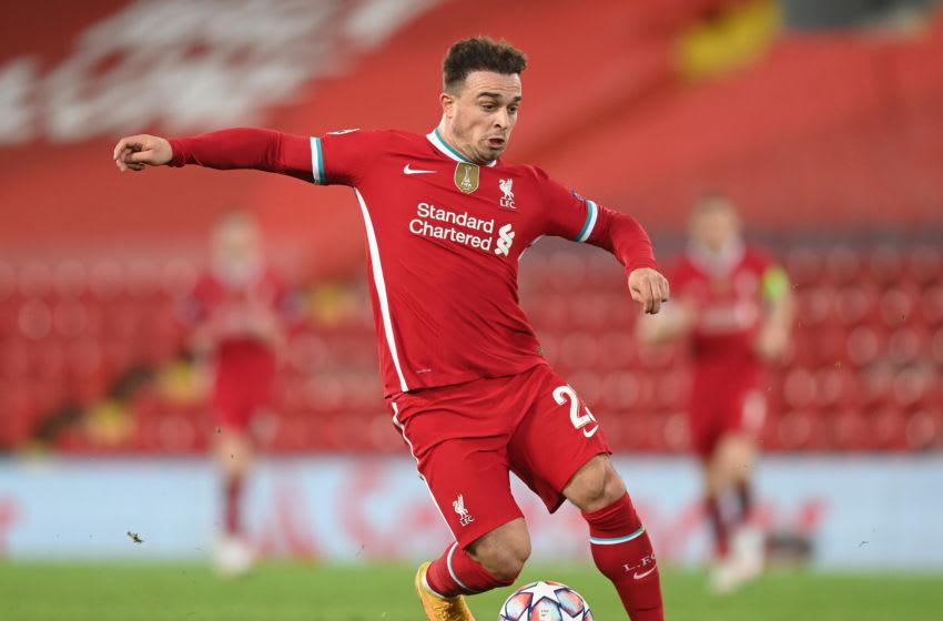 Xherdan Shaqiri of Liverpool (Photo by Michael Regan/Getty Images)