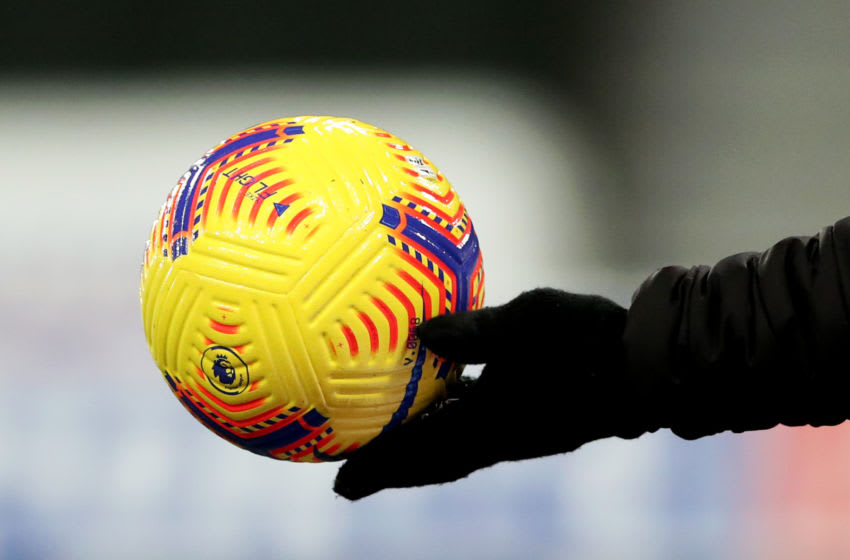 Official Premier League match ball (Photo by Scott Heppell - Pool/Getty Images)