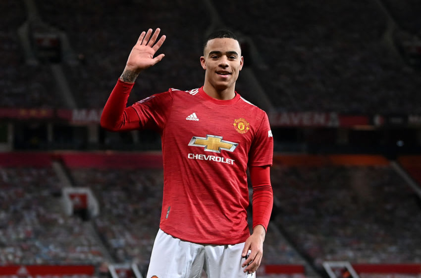 Mason Greenwood of Manchester United (Photo by Laurence Griffiths/Getty Images)