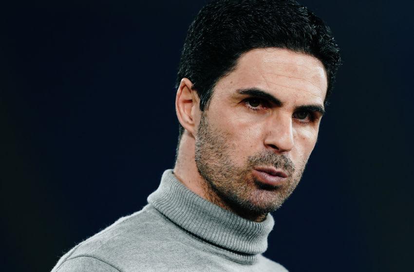 Mikel Arteta head coach of Arsenal (Photo by Danilo Di Giovanni/Getty Images)
