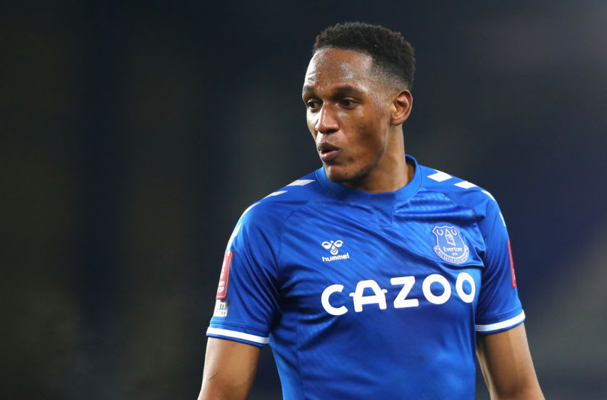 Yerry Mina of Everton (Photo by Chloe Knott - Danehouse/Getty Images)