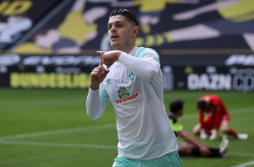 Milot Rashica of Werder Bremen (Photo by Joosep Martinson/Getty Images)