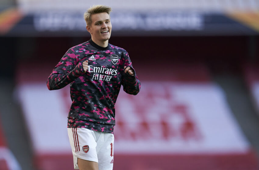 Martin Odegaard of Arsenal (Photo by Pedro Salado/Quality Sport Images/Getty Images)
