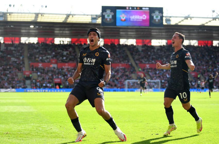 Raul Jimenez of Wolverhampton Wanderers (Photo by Alex Davidson/Getty Images)
