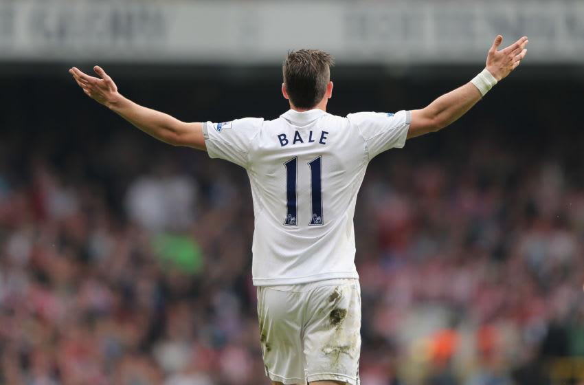 Gareth Bale of Tottenham Hotspur (Photo by Ian Walton/Getty Images)
