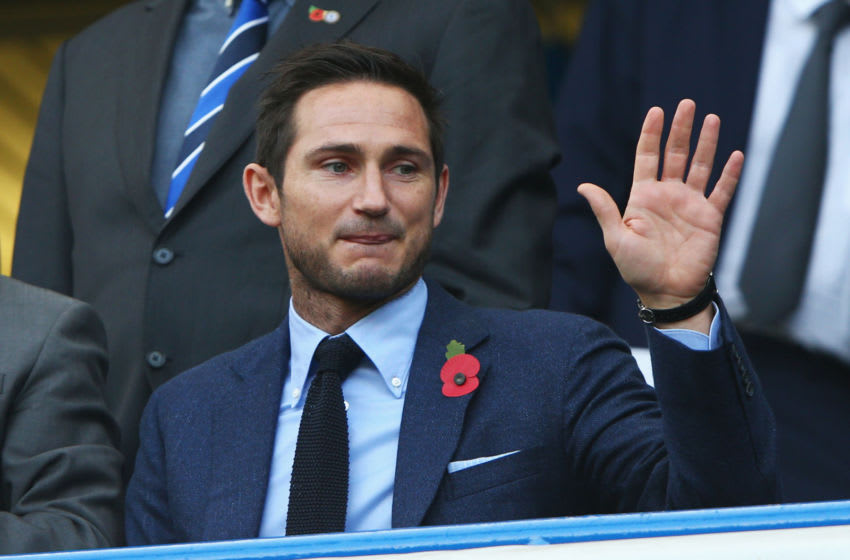 Ex-manager Chelsea player Frank Lampard (Photo by Ian Walton/Getty Images)