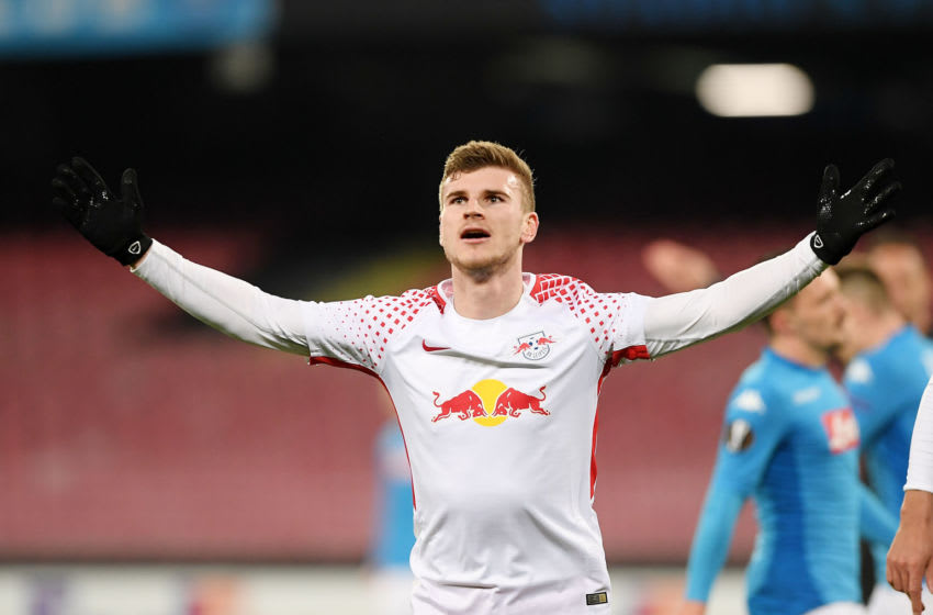 Timo Werner, RB Leipzig . (Photo by Francesco Pecoraro/Getty Images)