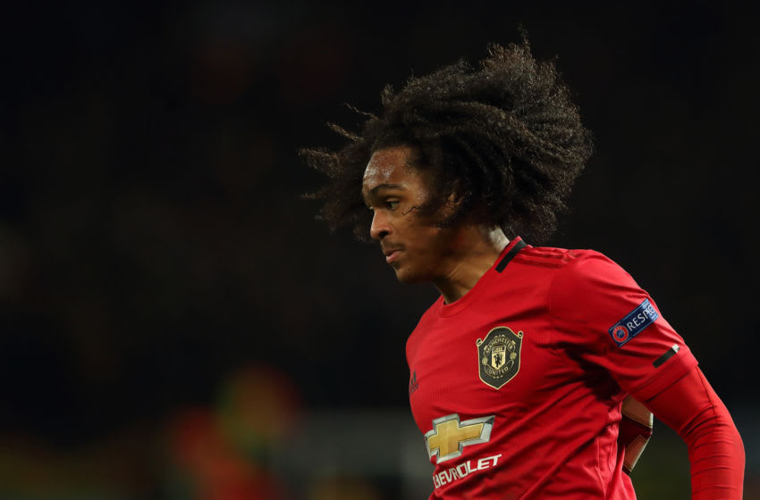 Tahith Chong, Manchester United. (Photo by James Williamson - AMA/Getty Images)