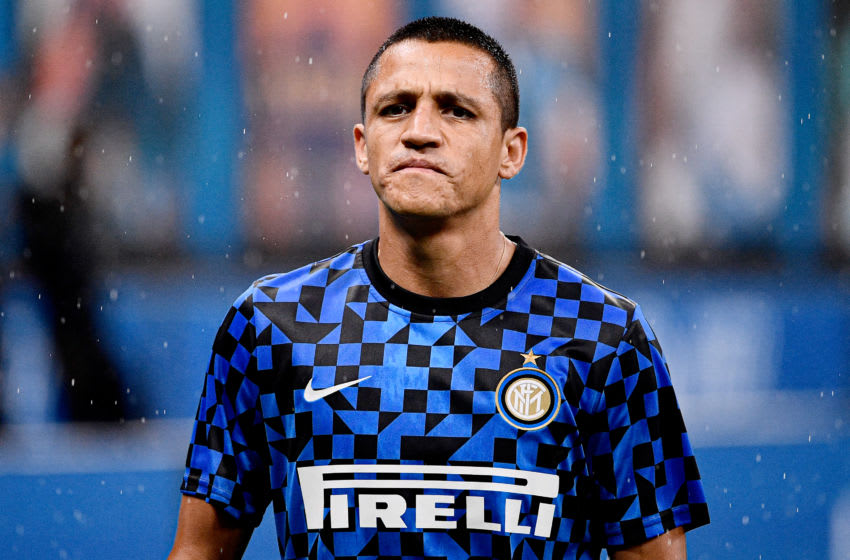 Alexis Sanchez, Inter Milan, on-loan from Manchester United. (Photo by Mattia Ozbot/Soccrates/Getty Images)