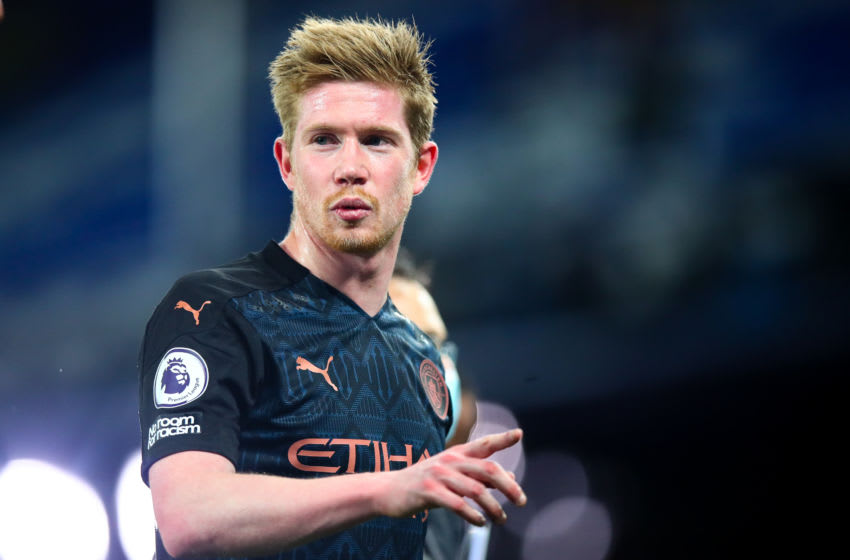 Kevin De Bruyne of Manchester City (Photo by Robbie Jay Barratt - AMA/Getty Images)