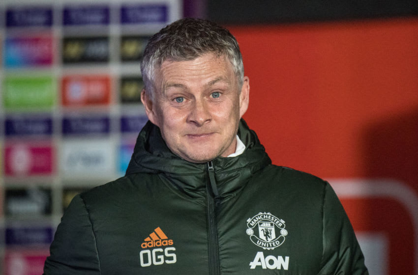 Manager Ole Gunnar Solskjaer of Manchester United (Photo by Sebastian Frej/MB Media/Getty Images)