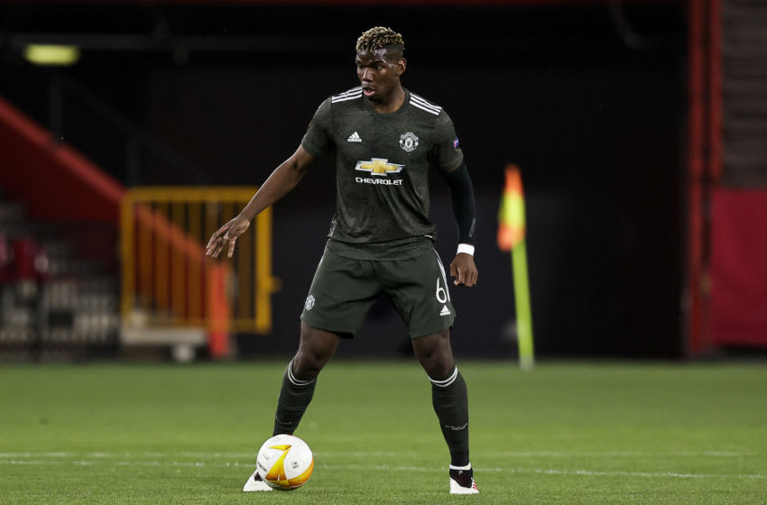 Paul Pogba of Manchester United (Photo by David S. Bustamante/Soccrates/Getty Images)