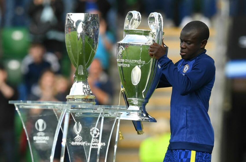 Chelsea's French midfielder N'Golo Kante (Photo by PAUL ELLIS/AFP via Getty Images)