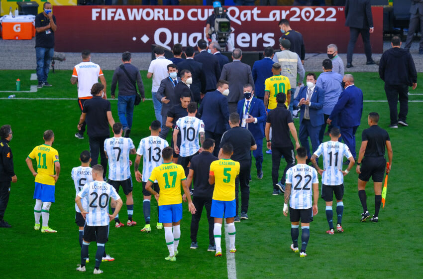 Brazil and Argentina (Photo by Marcello Zambrana/Anadolu Agency via Getty Images)