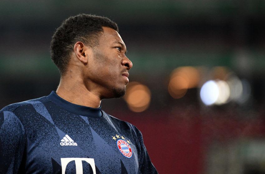 David Alaba of Bayern Munich (Photo by Philipp Guelland - Pool/Getty Images)
