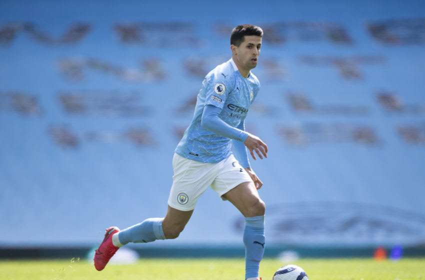 Cancelo of Manchester City (Photo by Visionhaus/Getty Images)