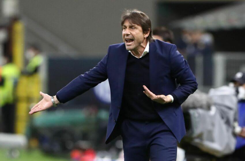 FC Internazionale coach Antonio Conte (Photo by Marco Luzzani/Getty Images)