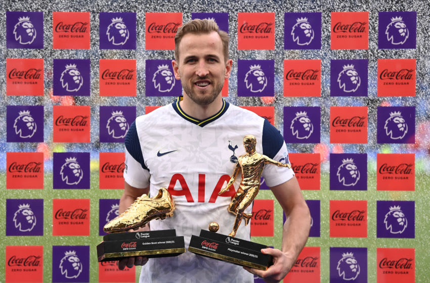 Harry Kane of Tottenham Hotspur (Photo by Laurence Griffiths/Getty Images)