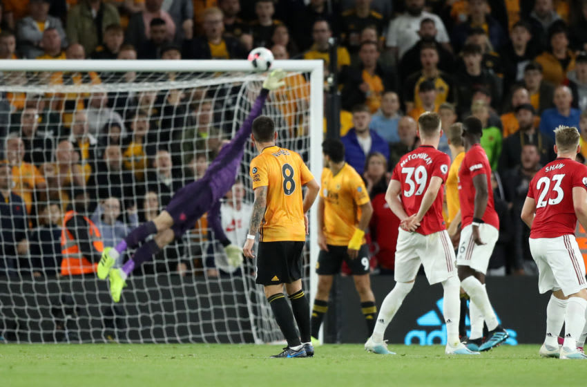 Ruben Neves of Wolverhampton Wanderers (Photo by David Rogers/Getty Images)