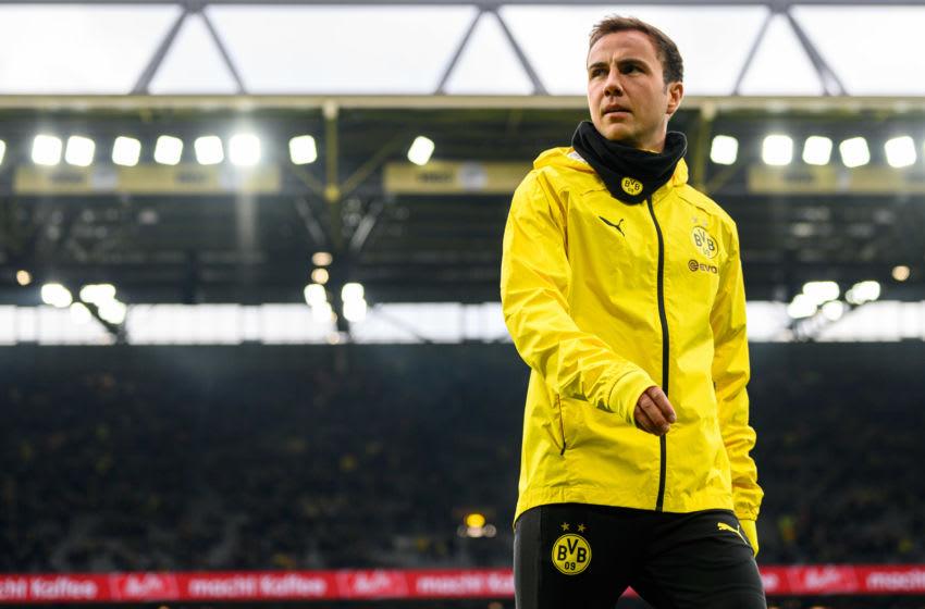 Mario Goetze, Borussia Dortmund (Photo by Jörg Schüler/Getty Images)