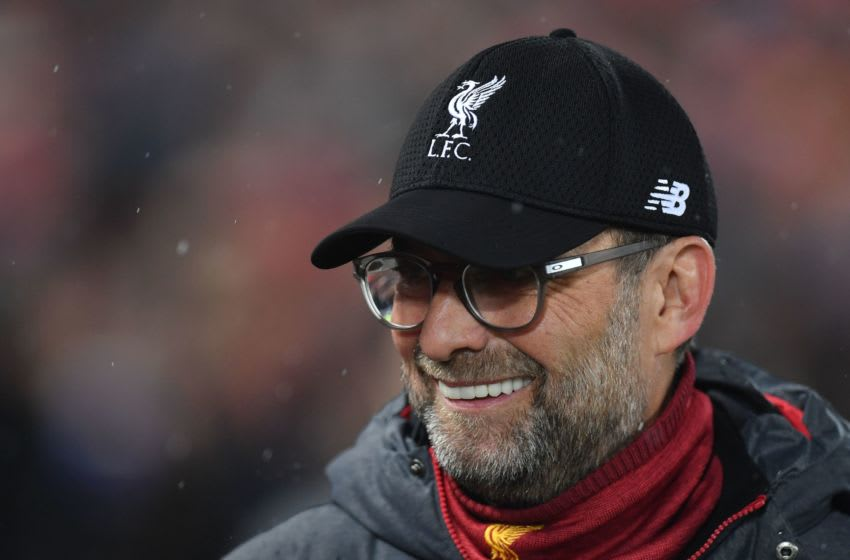 Liverpool manager, Jurgen Klopp (Photo by Paul ELLIS / AFP) (Photo by PAUL ELLIS/AFP via Getty Images)