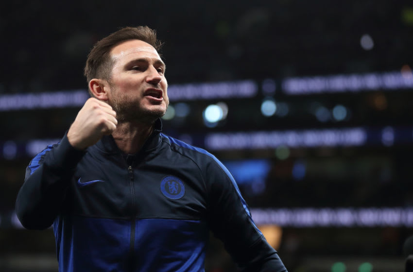 Chelsea manager, Frank Lampard (Photo by James Williamson - AMA/Getty Images)