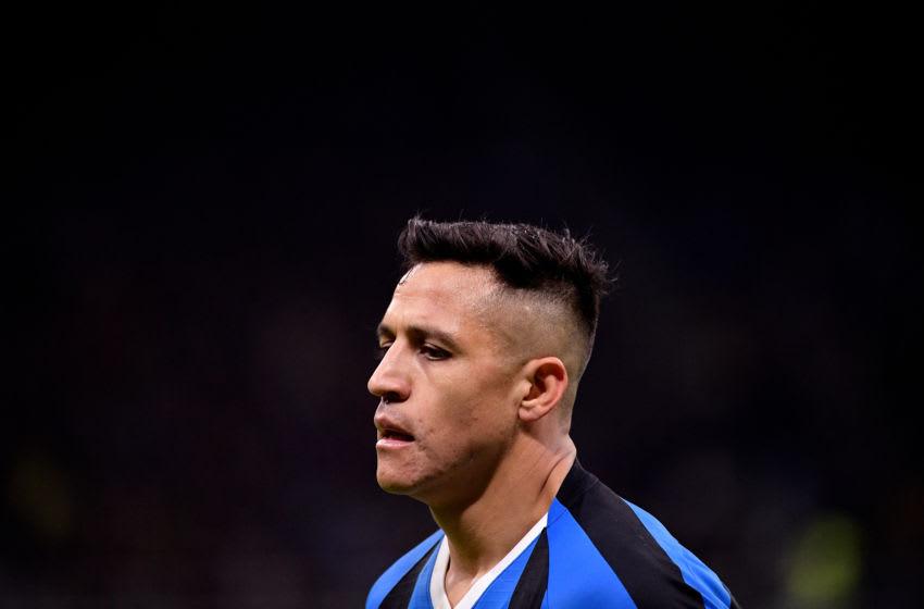 Alexis Sanchez. Inter Milan (Photo by Mattia Ozbot/Soccrates/Getty Images)
