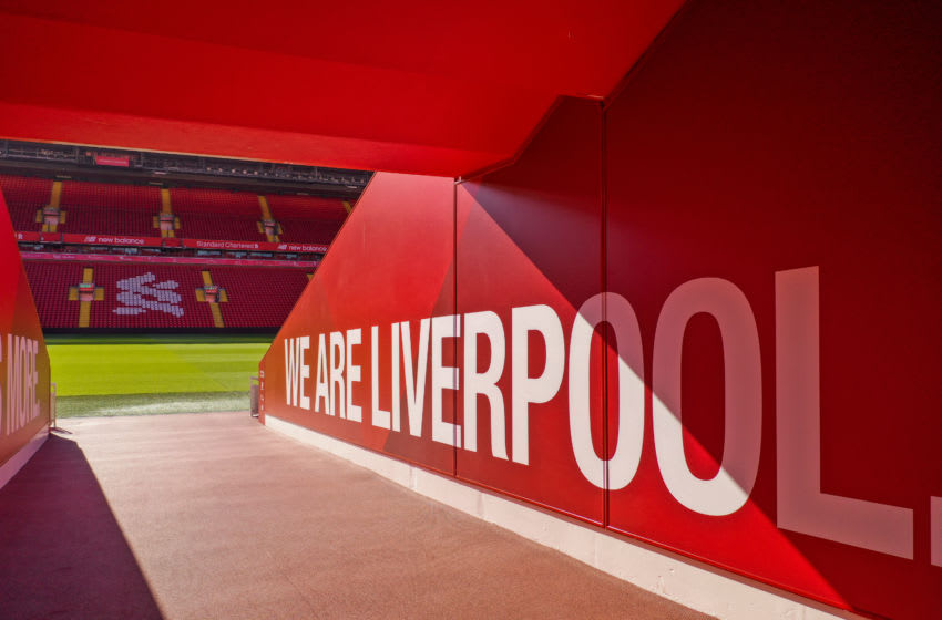 Anfield Stadium, Liverpool Football (Photo by Christopher Furlong/Getty Images)