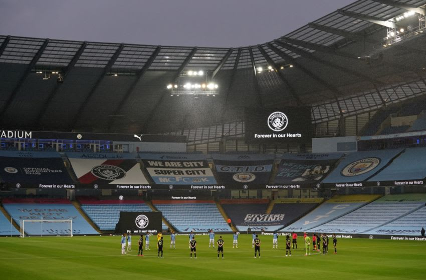 English Premier League, Manchester City, Arsenal (Photo by DAVE THOMPSON/POOL/AFP via Getty Images)