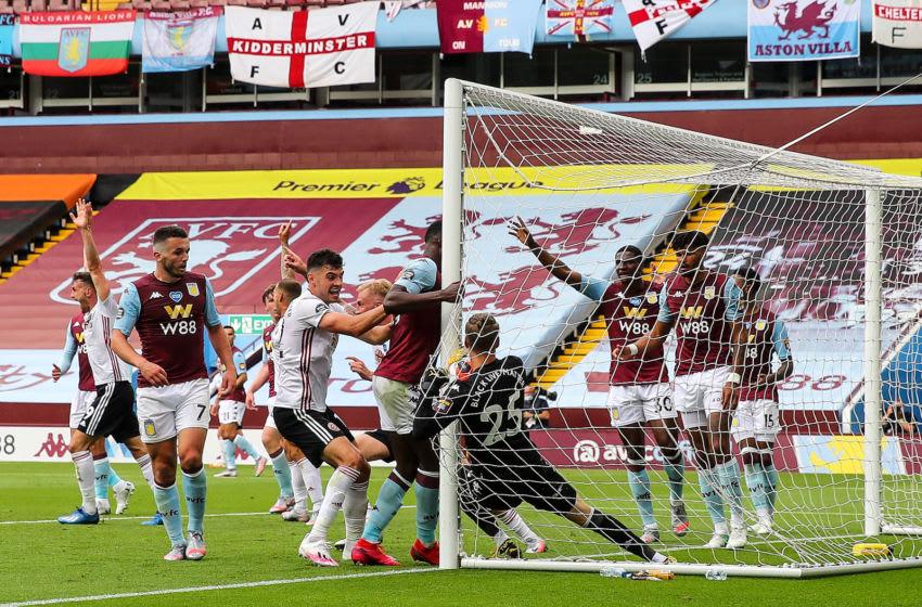 Orjan Nyland, Aston Villa (Photo by Matthew Ashton - AMA/Getty Images)