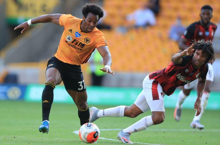 Wolverhampton Wanderers, Adama Traore (Photo by MIKE EGERTON/POOL/AFP via Getty Images)