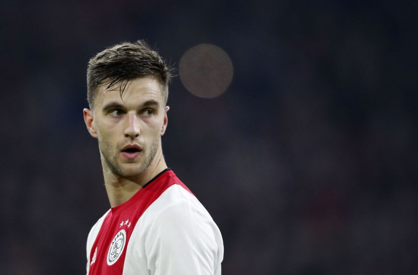 Joel Veltman of Ajax (Photo by ANP Sport via Getty Images)