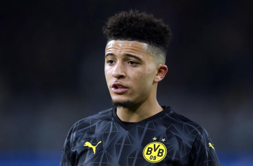 Jadon Sancho, Borussia Dortmund. (Photo by Alex Grimm/Getty Images)