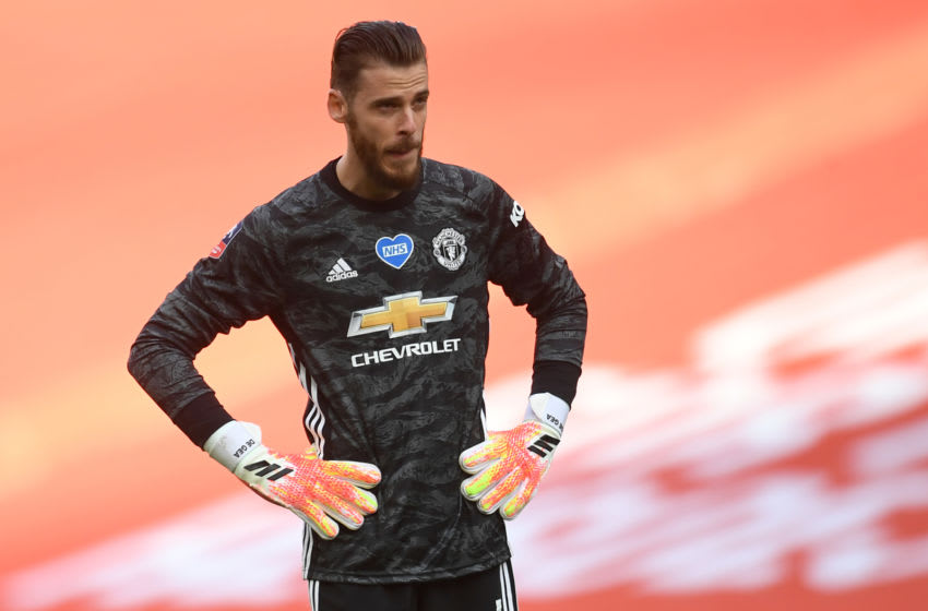 David de Gea, Manchester United (Photo by ANDY RAIN/POOL/AFP via Getty Images)