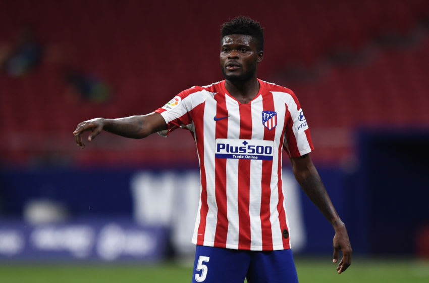 Thomas Partey, Atletico Madrid. (Photo by Denis Doyle/Getty Images)